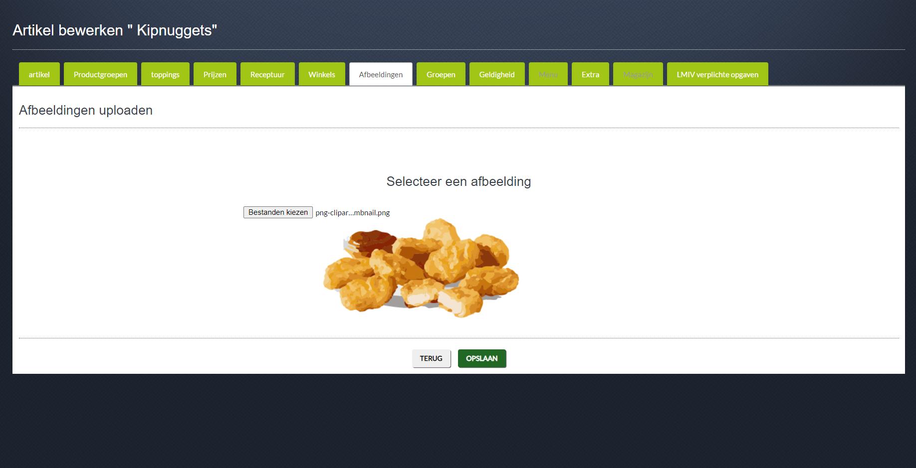 Vrij configureerbaar - configureer zelf uw webshop